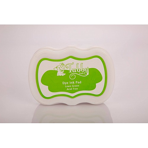 Tubby Craft Dye Ink Pad - Lawn Green