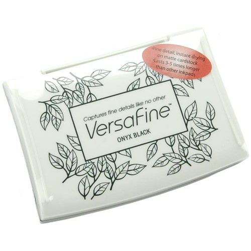 VersaFine Pigment Ink Pad - Onyx Black