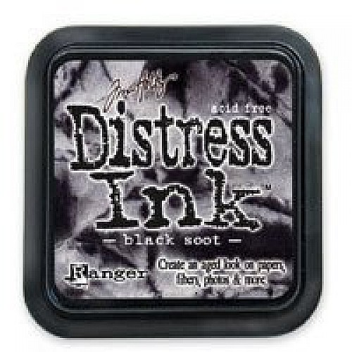 Tim Holtz Distress Inks -  Black Soot