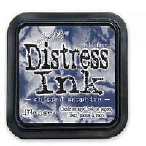 Tim Holtz Distress Inks -  Chipped Sapphire