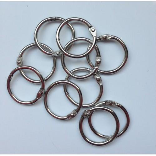 Metal RIngs (25MM) - 10 pcs