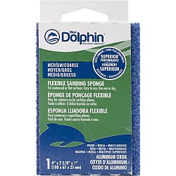 Deluxe Foam Sanding Block - Medium/Coarse Grit