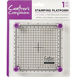 Crafter's Companion Stamping Platform - 4by4 inch