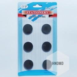 Circle Magnets (25 mm by 3 mm) - 6 pcs