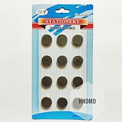 Circle Magnets (17 mm by 3 mm) - 12 pcs