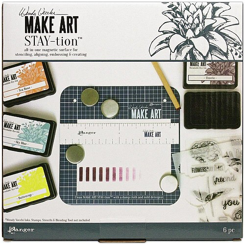 Wendy Vecchi Make Art Stay-tion 7""