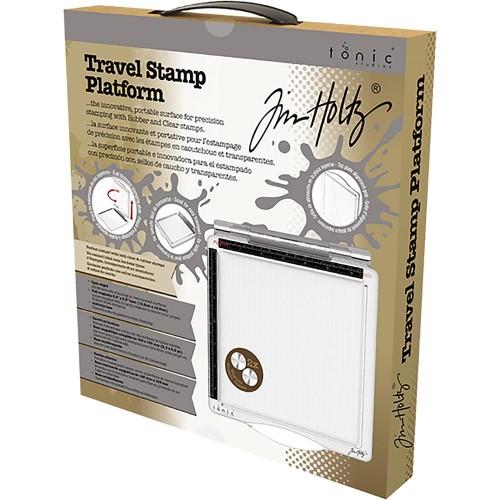 "Tonic Studios Tim Holtz Travel Stamp Platform 6.5""X6.5"""