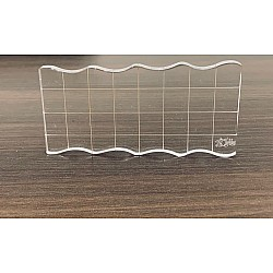 Tubby Craft Clear Acrylic Block - 2 by 4 inches