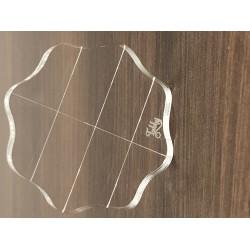 Tubby Craft Clear Acrylic Block (Big)