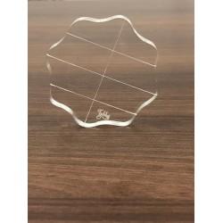 Tubby Craft Clear Acrylic Block (Small)