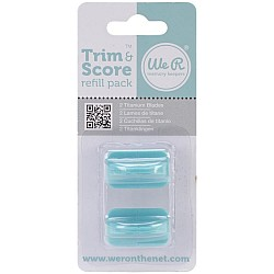 We R Memory Keepers Trim & Score Refill Blades 2/Pkg