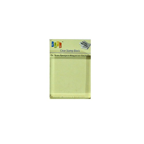 Clear Acrylic Block (50mm by 50 mm)