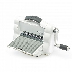 Sizzix Big Shot Foldaway Machine (White & Gray) with Free Bonus Content