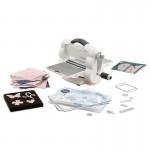 Sizzix Big Shot Foldaway Machine (White & Gray) with Free Bonus Content